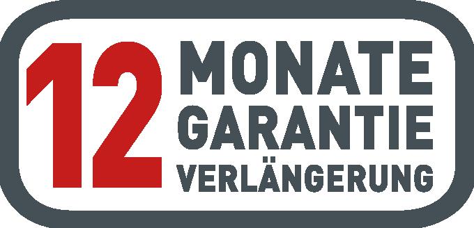 12 Monate Garantieverlängerung