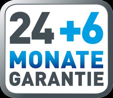 24+6 Monate Garantie