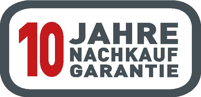 10 Jahre Nachkauf-Garantie