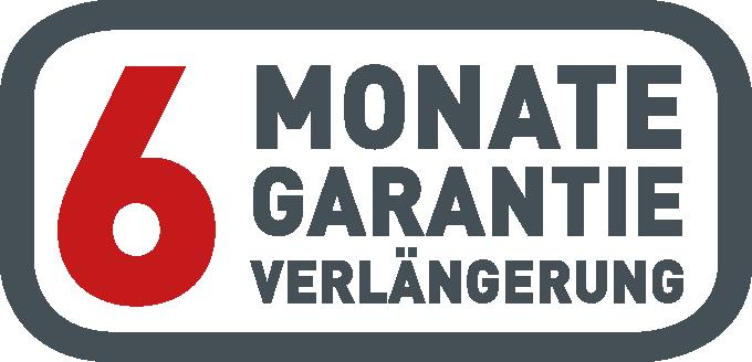 6 Monate Garantie-Verlängerung