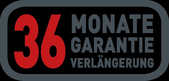36 Monate Garantieverlängerung
